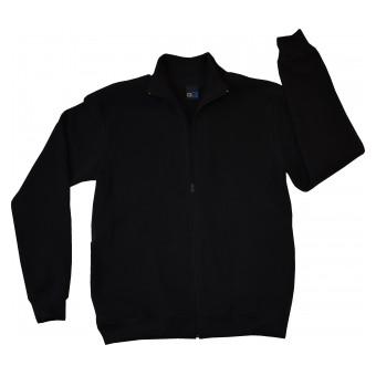 ciepła bluza męska długi zamek - GT-2247