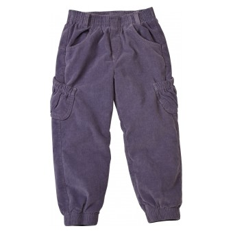 ocieplane spodnie sztruksowe dziewczęce
