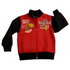 ciepła bluza chłopięca długi zamek - GT-1695