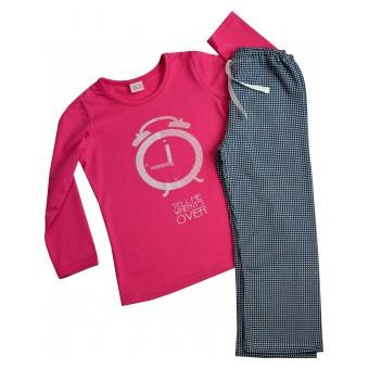 piżamka dziewczęca długi rękaw
