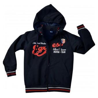 cienka kurtka chłopięca z kapturem - GT-2991