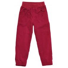 ocieplane spodnie sztruksowe dziewczęce - GT-2796