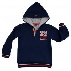 ciepła bluza chłopięca z kapturem - GT-3381