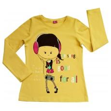 bluzeczka dziewczęca długi rękaw - A-4859