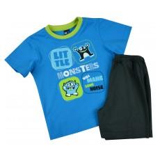 piżamka chłopięca krótki rękaw - GT-3638