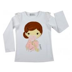 bluzeczka  z koronką - A-5256