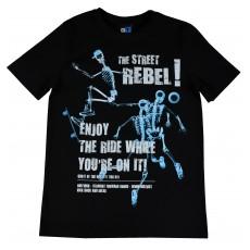 koszulka męska z nadrukiem świecącym w ciemności - GT-3685
