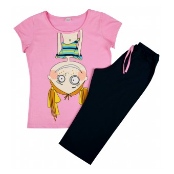 piżama krótki rękaw - A-4656