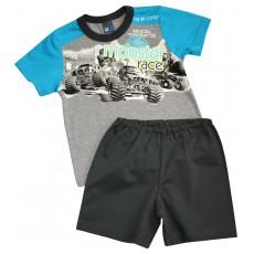 piżamka chłopięca krótki rękaw - GT-3065