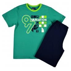 piżama chłopięca krótki rękaw - GT-3609