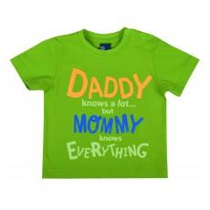koszulka chłopięca z neonowymi napisami - GT-3645