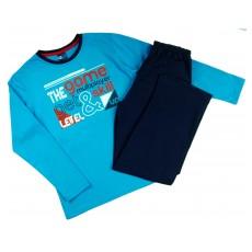 piżama chłopięca długi rękaw - GT-3540