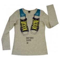 bluzka dziewczęca długi rękaw - A-4905