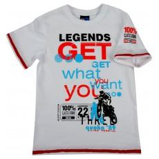 koszulka chłopięca krótki rękaw - GT-3654