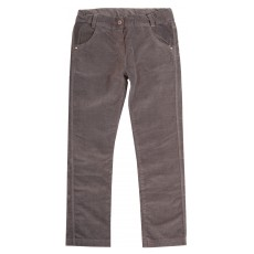 spodnie dziewczęce z  welwetu z regulowaną gumką - GTP-2273
