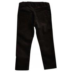 spodnie dziewczęce z welwetu z regulowaną gumką - GTP-2317