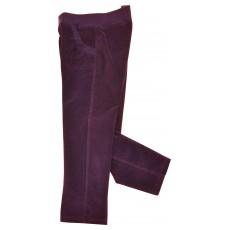 spodnie dziewczęce z welwetu - GTP-2320