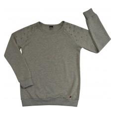 bluza dziewczęca z ozdobnymi ramionkami - A-5101