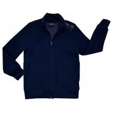 ciepła bluza chłopięca długi zamek - GT-3328