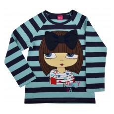 bluzeczka dziewczęca długi rękaw - A-4562