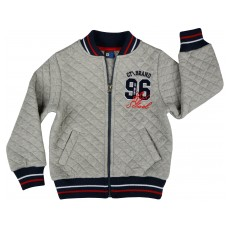 ciepła bluza chłopięca długi zamek - GT-4022