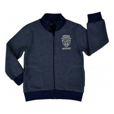 ciepła bluza chłopięca długi zamek - GT-4027