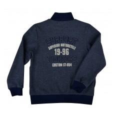 ciepła bluza chłopięca długi zamek - GT-4028