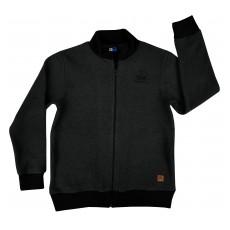 ciepła bluza męska długi zamek a`la sweter - GT-4080