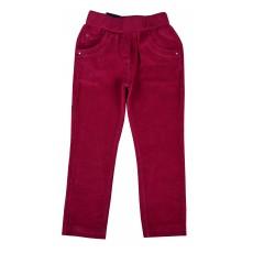 ocieplane spodnie sztruksowe dziewczęce - GT-4129