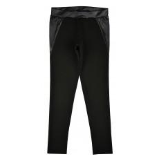 spodnie z dodatkiem ekoskórki - A-5773