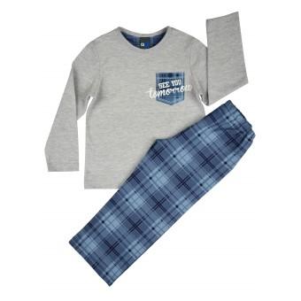 piżama chłopięca długi rękaw