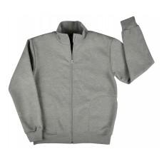 ciepła bluza męska długi zamek - GT-4236