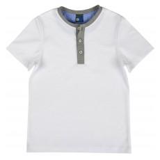 elegancka koszulka chłopięca krótki rękaw - GT-4279