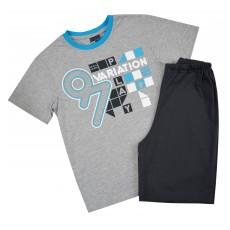 piżama chłopięca krótki rękaw - GT-3608