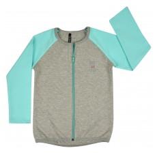 bluza dziewczęca długi zamek - A-5848
