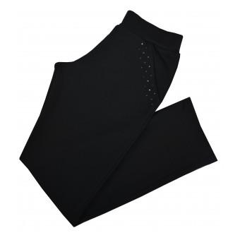 spodnie z ozdobną kieszonką