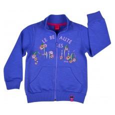 bluza dziewczęca długi zamek - A-6199
