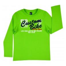 bluzka ze szczotkowanej bawełny - GT-4558