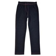 ciepłe legginsy a`la jeans - A-6322