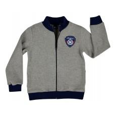 ciepła bluza chłopięca długi zamek - GT-4681