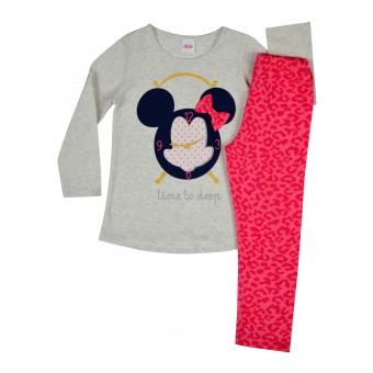 piżamka dziewczęca długi rękaw - A-6457