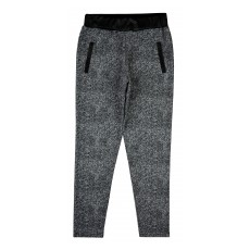 spodnie z dodatkiem ekoskórki - A-6492