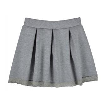elegancka spódniczka z koronką