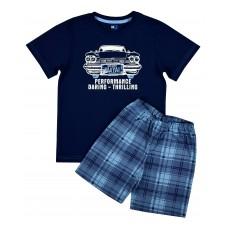 piżamka chłopięca krótki rękaw - GT-4955
