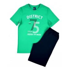 piżama chłopięca krótki rękaw - GT-4356