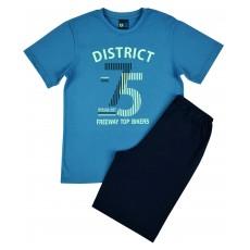 piżama chłopięca krótki rękaw - GT-4357