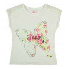 bluzeczka dziewczęca krótki rękaw - A-6648