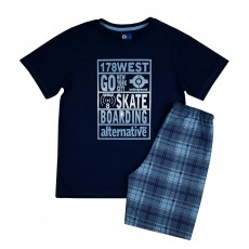 piżama chłopięca krótki rękaw - GT-4956