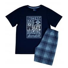 piżama chłopięca krótki rękaw - GT-4957