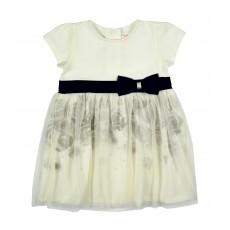 wizytowa sukieneczka z tiulem - A-6690